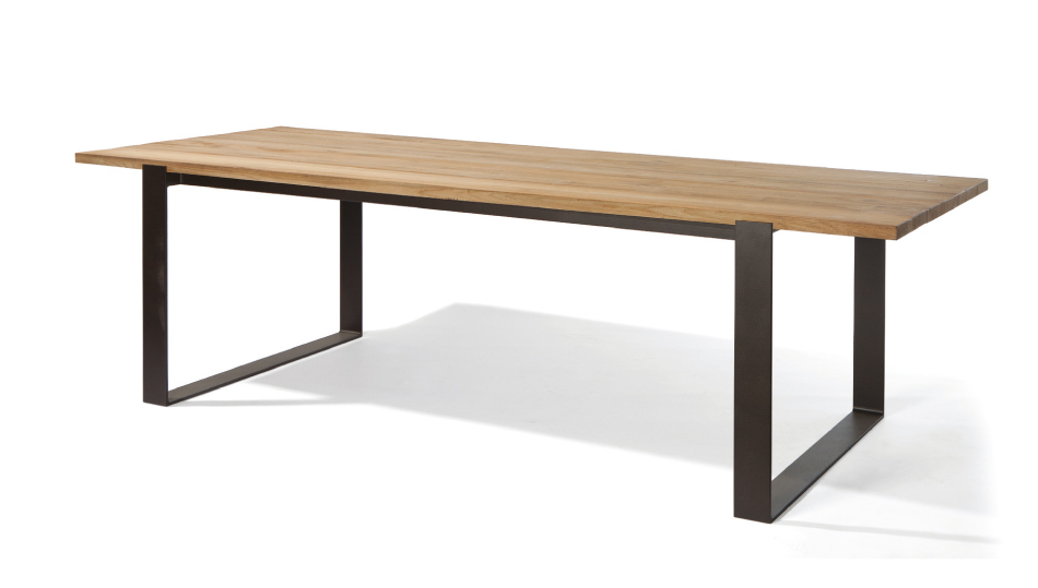Outdoor Brasilia Teak High Dining Tables Pertaining To Famous Manutti – Prato Dining Table Prato 270x107 F (View 19 of 20)