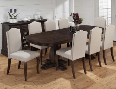 Outlet Prices Within Dark Dining Room Tables (View 9 of 20)