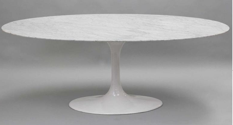 Oval Dining Tables For Sale Throughout Most Recent Oval Marble Dining Table Neat Design Ideas Awesome Throughout  (View 15 of 20)