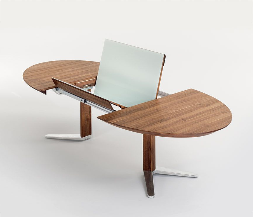 Oval Extending Dining Tables And Chairs Intended For Famous Nice Extending Dining Table (View 10 of 20)