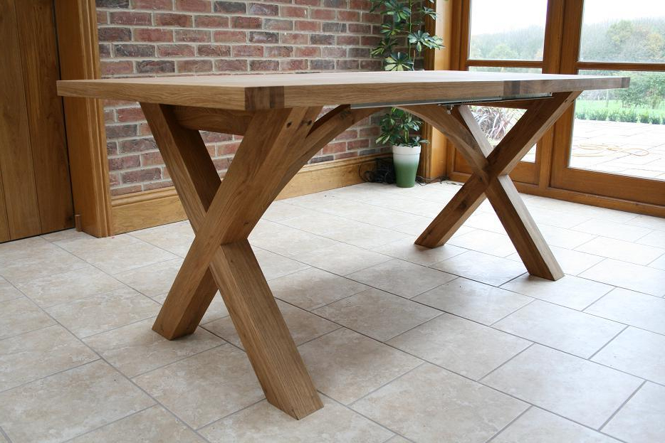 Oxbow Table Throughout Recent Oak Extending Dining Sets (View 13 of 20)