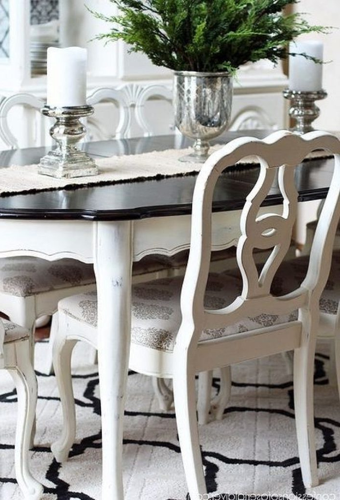 Painted Dining Tables Within 2017 3. Dining Table Best 25 Paint Tables Ideas On Pinterest Chalk (Gallery 14 of 20)