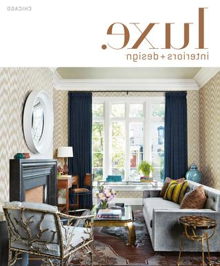 Palazzo 6 Piece Dining Set With Mindy Slipcovered Side Chairs Throughout Preferred Luxe Magazine May 2017 Chicagosandow® – Issuu (View 14 of 20)
