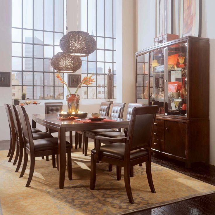Palazzo 7 Piece Dining Sets With Pearson White Side Chairs Within Most Popular 38 Best Burke Images On Pinterest (View 16 of 20)