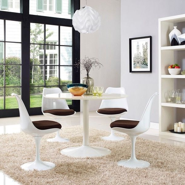 Palazzo 9 Piece Dining Sets With Pearson White Side Chairs With Well Known 17 Best Tables Tulipes Images On Pinterest (View 16 of 20)