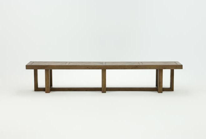 Palazzo 98 Inch Bench (View 5 of 20)