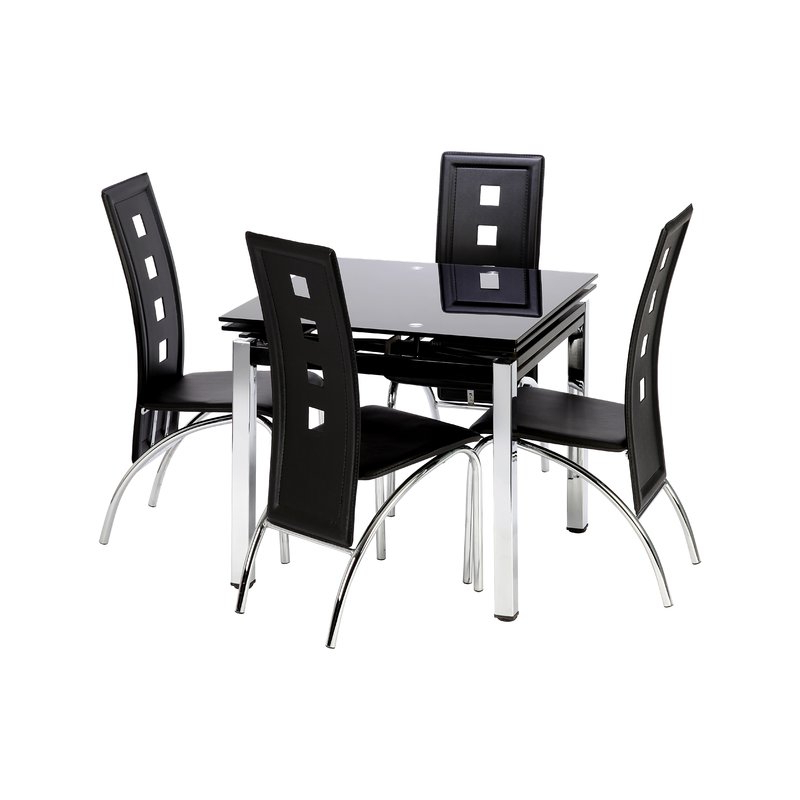 Paris Dining Tables Pertaining To Famous Trends Interiors Paris Extendable Dining Table & Reviews (View 11 of 20)