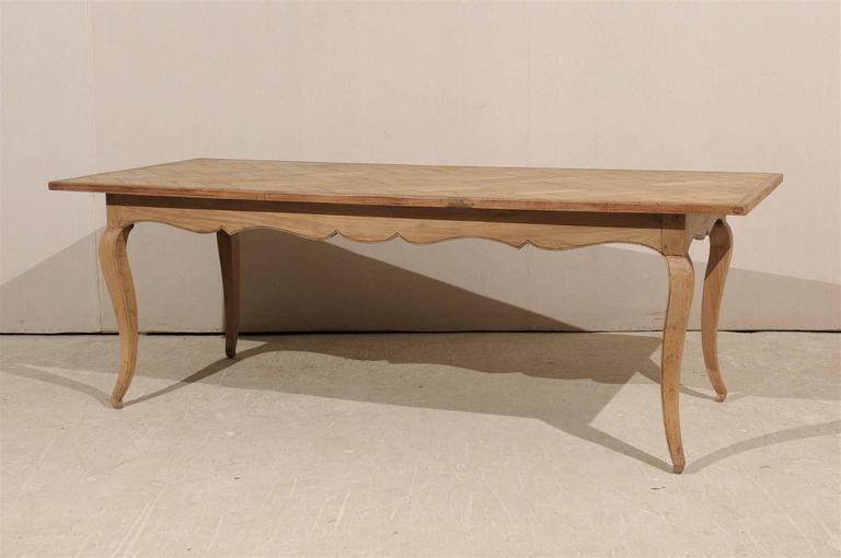Parquet Dining Tables With Popular French Louis Xv Style Parquet Top Dining Table At 1stdibs (View 16 of 20)