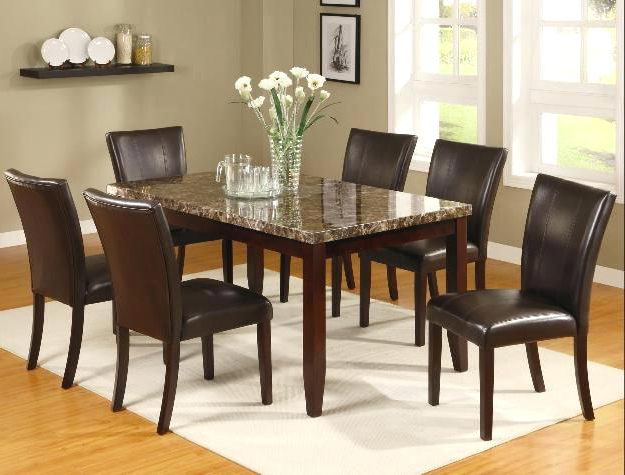 Partridge 7 Piece Dining Sets In Recent 7 Piece Dining Set Silver 7 Piece Dining Set 7 Piece Counter Height (View 9 of 20)