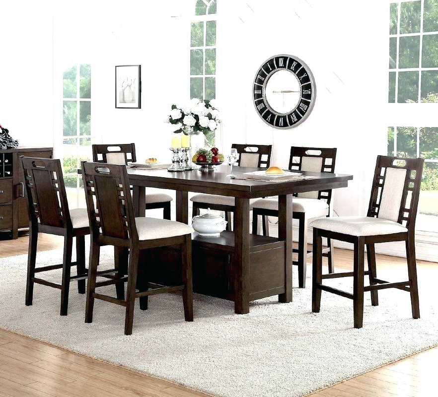 Partridge 7 Piece Dining Sets Pertaining To Widely Used Decoration: 7 Piece Dining Set (View 14 of 20)