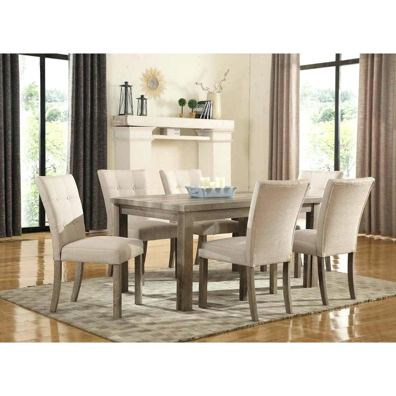 Partridge 7 Piece Dining Sets Throughout Current Decoration: 7 Piece Dining Set (View 15 of 20)