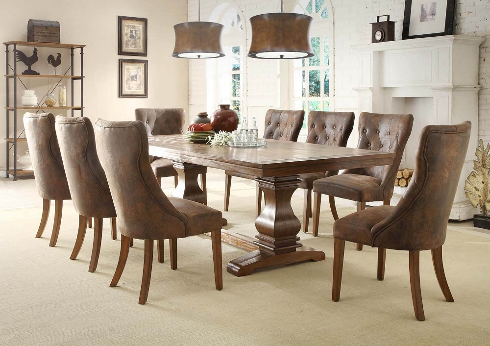 Partridge 7 Piece Dining Sets Within Recent Choosing The Right 7 Piece Dining Set – Goodworksfurniture (Gallery 1 of 20)