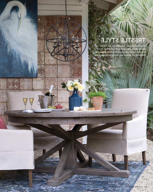 Partridge Dining Tables Regarding Most Up To Date Living Spaces – Product Catalog – Spring 2017 – Partridge Dining Table (View 7 of 20)
