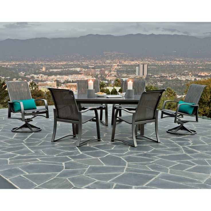 Pavement, Ballard Designs And Brick In Favorite Bale 7 Piece Dining Sets With Dom Side Chairs (View 4 of 20)