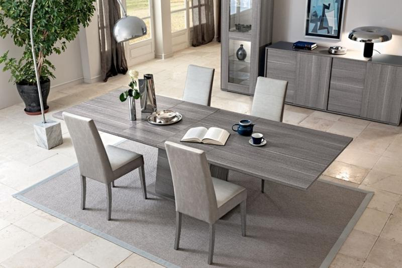Pertaining To Best And Newest Dining Tables With Grey Chairs (View 16 of 20)