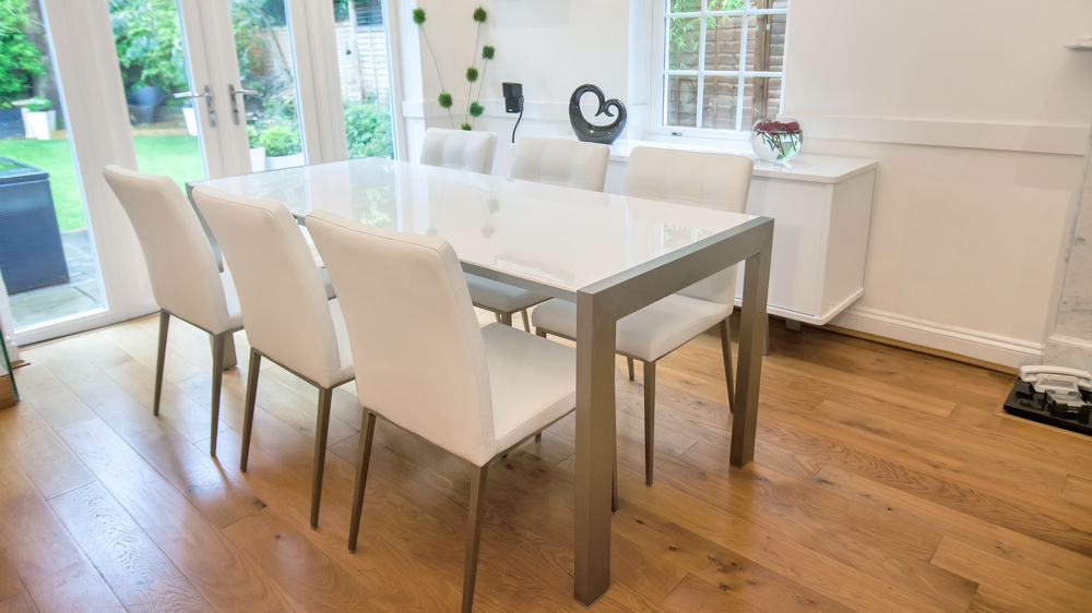 Pertaining To Famous Cream Gloss Dining Tables And Chairs (Gallery 18 of 20)
