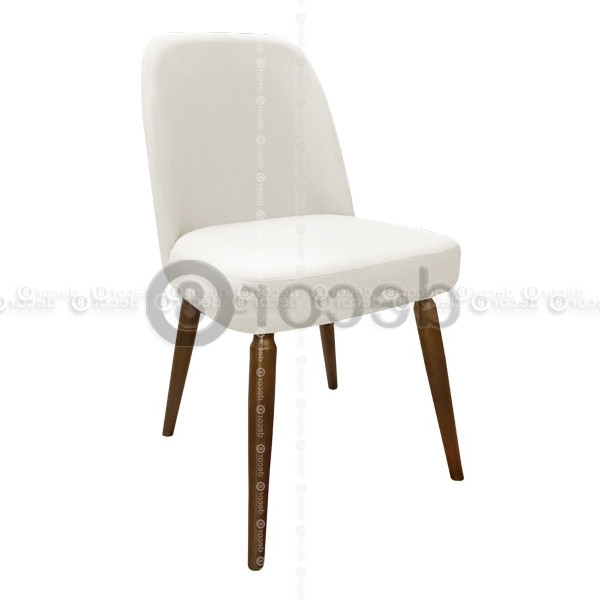 Petra High Back Leather Dining Chair – Walnut Legs Inside Most Recently Released High Back Leather Dining Chairs (View 7 of 20)