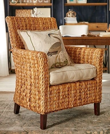 Pier 1 Imports Inside Banana Leaf Chairs With Cushion (View 7 of 20)