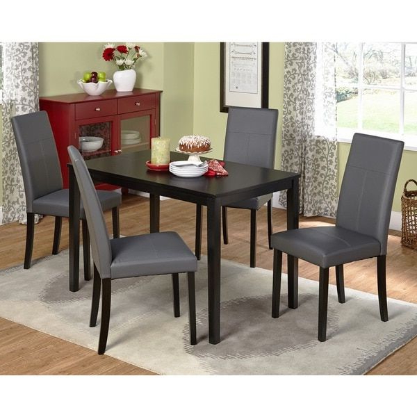 Pierce 5 Piece Counter Sets For Current Simple Living Bettega Parson Five Piece Dining Set (View 14 of 20)