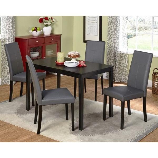 Pierce 5 Piece Counter Sets For Current Simple Living Bettega Parson Five Piece Dining Set (View 10 of 20)