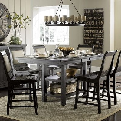 Pinterest Inside Caira Black 5 Piece Round Dining Sets With Diamond Back Side Chairs (View 3 of 20)