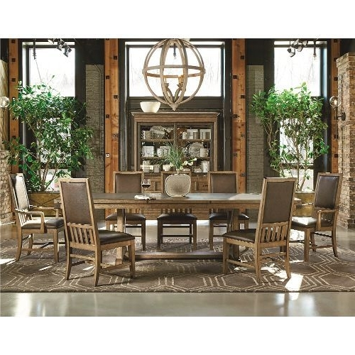 Pinterest Inside Recent Chandler 7 Piece Extension Dining Sets With Wood Side Chairs (View 12 of 20)