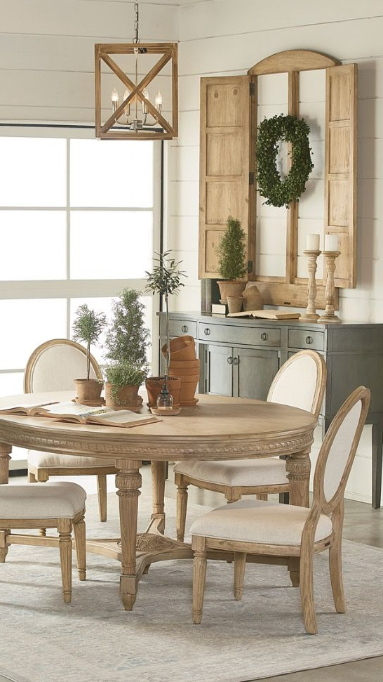 Pinterest Regarding Famous Magnolia Home English Country Oval Dining Tables (View 19 of 20)