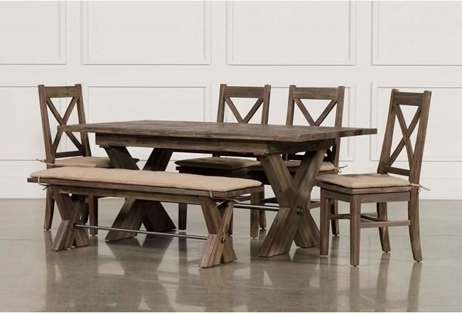 Pinterest Throughout Jaxon Grey 7 Piece Rectangle Extension Dining Sets With Wood Chairs (View 15 of 20)