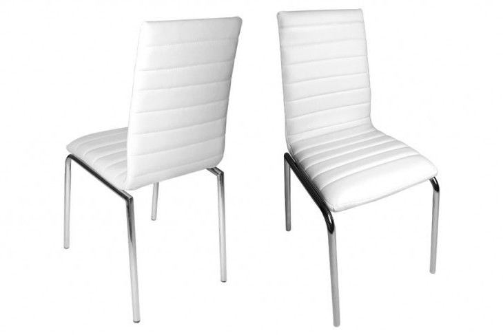 Pinterest With Regard To White Leather Dining Chairs (View 12 of 20)