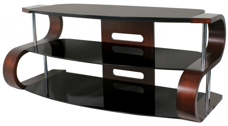 Popular 16 Types Of Tv Stands (Comprehensive Buying Guide) Inside Ina Matte Black 60 Inch Counter Tables With Frosted Glass (Gallery 11 of 20)