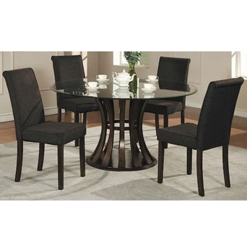Popular 4 Seater Glass Dining Table At Rs 7000 /set (View 15 of 20)