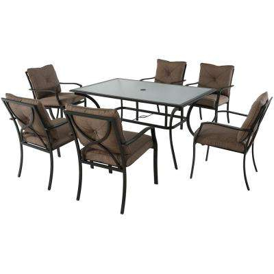 Popular 6 7 Person – Cambridge – Patio Dining Sets – Patio Dining Furniture With Crawford 6 Piece Rectangle Dining Sets (View 11 of 20)