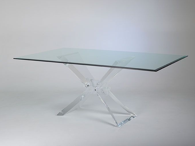Popular Acrylic Lucite Furniture – Acrylic Dining Tables (View 8 of 20)