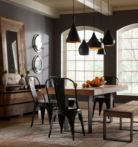 Popular Bale Rustic Grey 6 Piece Dining Sets With Pearson Grey Side Chairs Inside 396 Best Rooms I Love Images On Pinterest (View 10 of 20)
