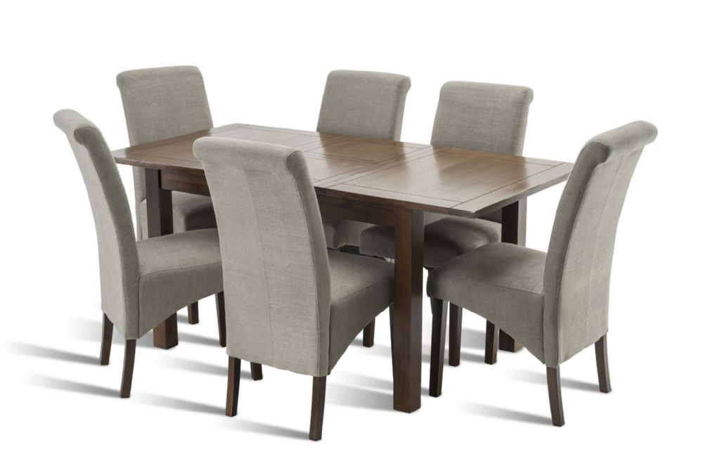 Popular Benson Rectangle Dining Tables Inside Benson Rich Walnut Dining Table (View 16 of 20)
