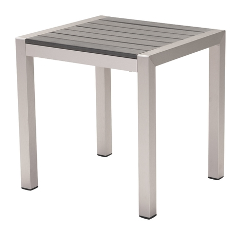 Popular Carly Indoor/outdoor Side Table, Gray Inside Carly Rectangle Dining Tables (View 18 of 20)