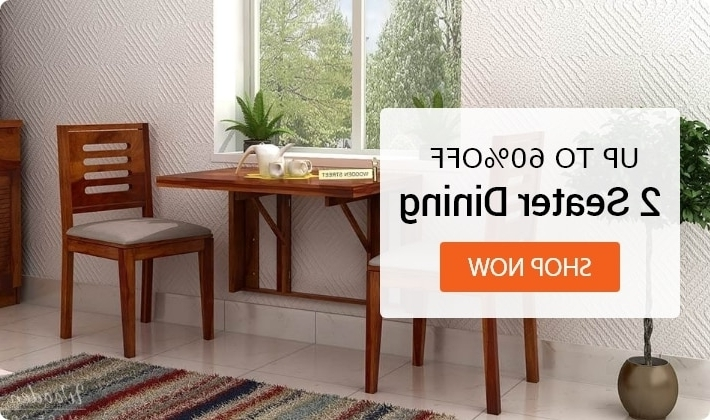 Popular Cheap Dining Tables And Chairs Intended For Dining Table Sets: Buy Wooden Dining Table Set Online @ Low Price (View 20 of 20)