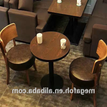 Popular Cheap Price Round Cafe Dining Table Chair Sets For Coffee Restaurant Within Dining Tables And Chairs Sets (View 16 of 20)