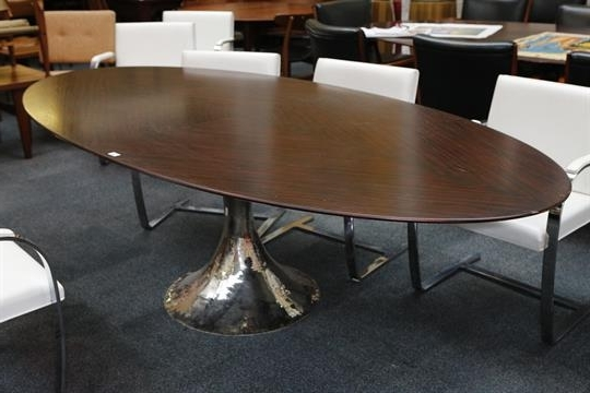 Popular Chichester Dining Tables Inside A Julian Chichester Dakota Dining Table, 21st Century, Elliptical (View 5 of 20)