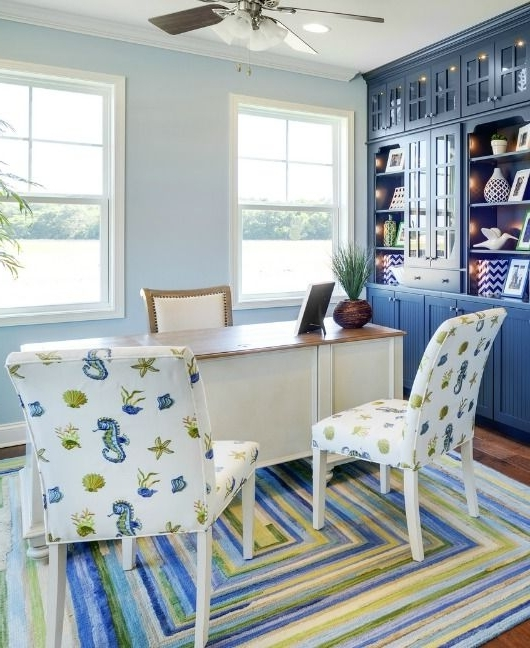 Popular Coastal Blue & Green Interior Design Ideasechelon (View 8 of 20)