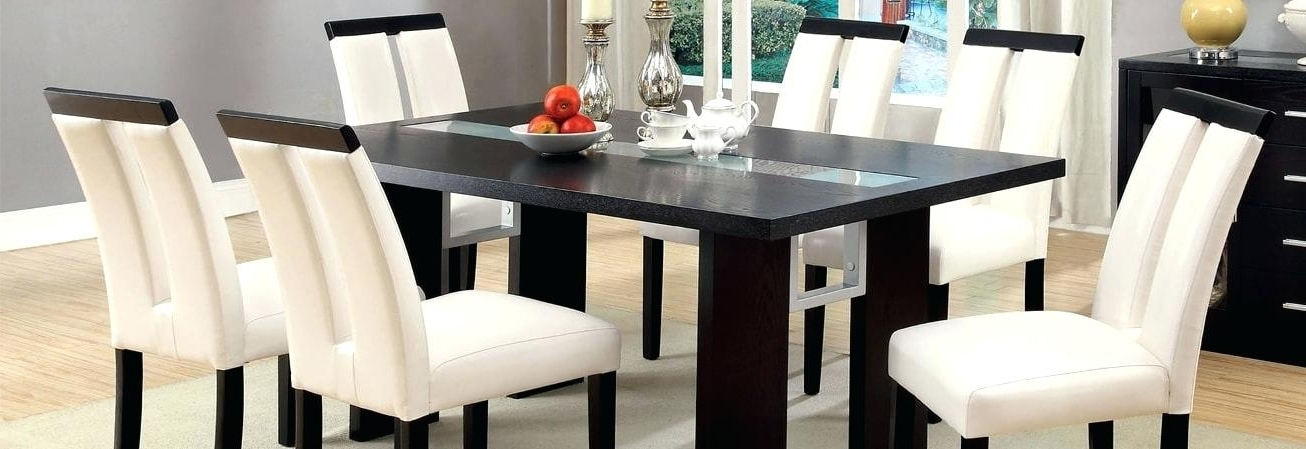 Popular Contemporary Dining Room Tables Endearing Large Modern Dining Table With Regard To Contemporary Dining Sets (View 14 of 20)
