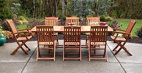 Popular Cozy Patio Tables Furniture Dining Sets Astounding Table And Chairs With Garden Dining Tables And Chairs (View 15 of 20)