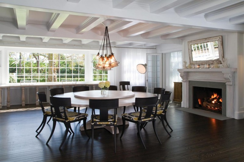 Popular Dining Furniture – Large Wooden Dining Table – Home Decor Ideas With Regard To Huge Round Dining Tables (View 14 of 20)
