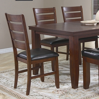 Popular Dining Room Dining Room Sets Bardstown 6 Pc Dinning Set At Berry's In Bardstown Side Chairs (View 18 of 20)
