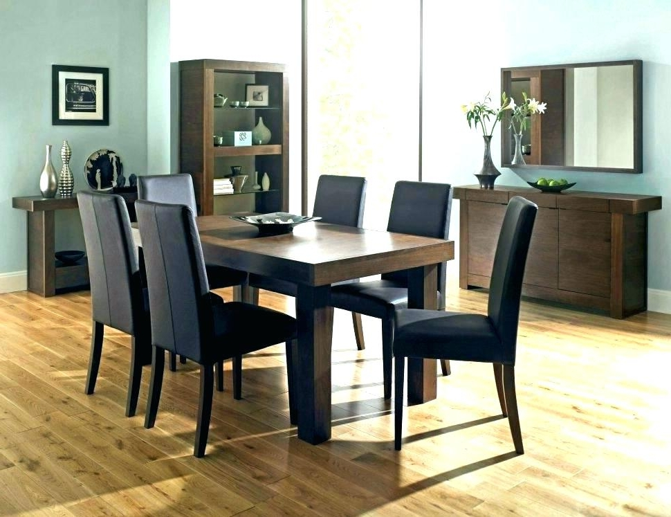 Popular Dining Room Table 6 Chairs Round Dining Table Set For 6 6 Dining Regarding 6 Seater Round Dining Tables (View 16 of 20)