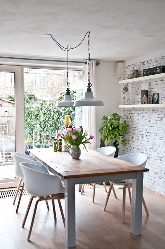 Popular Dining Tables Lights With 7 Creative Dining Room Lighting Ideas In  (View 17 of 20)