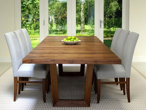 Popular Extendable Dining Room Tables And Chairs Inside Extra Large Dining Tables (View 12 of 20)