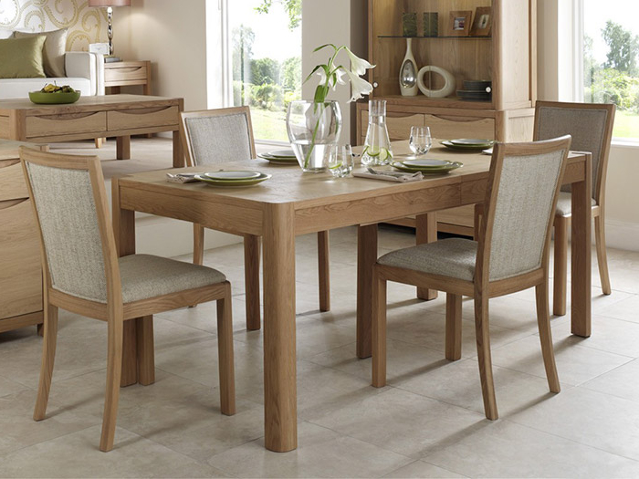 Popular Extending Dining Table And 6 Dining Chairs From The Denver Within Extending Dining Table Sets (View 4 of 20)