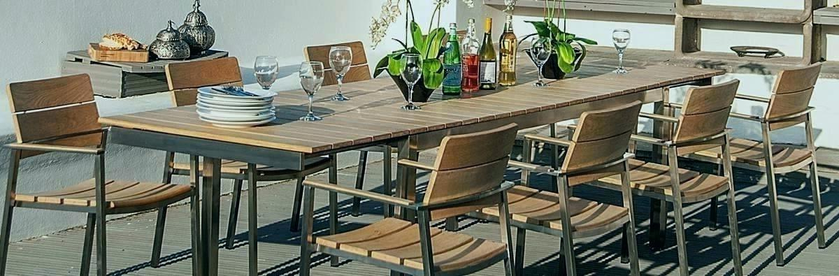 Popular Extending Outdoor Dining Table Modern Outdoor Ideas Medium Size Regarding Extending Outdoor Dining Tables (View 16 of 20)