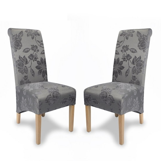 Featured Photo of Fabric Dining Chairs